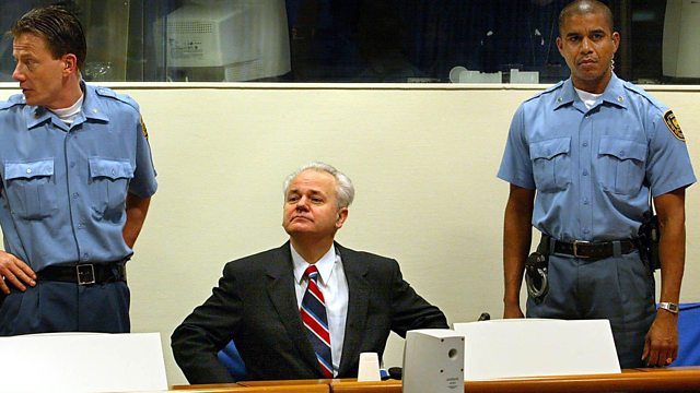Milosevic no tribunal