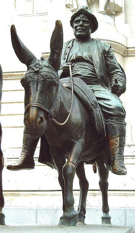 estátua de Sancho panza