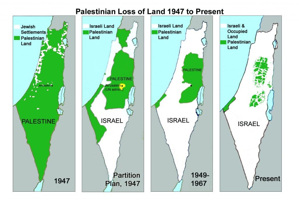 mapas palestina