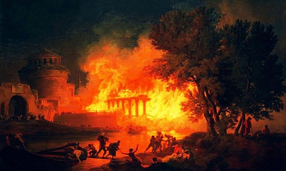 Nero e o incêndio de Roma