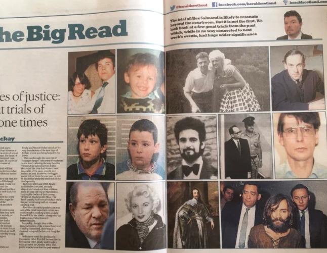 Salmond montagem no Herald