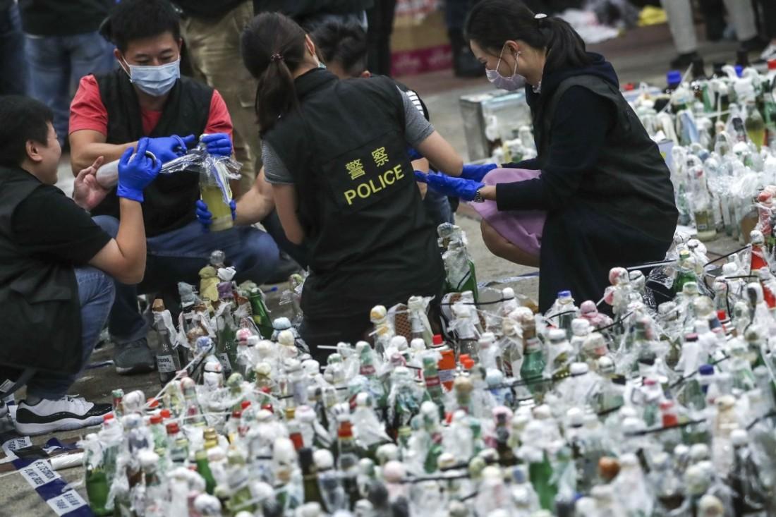 hong kong liquidos corrosivos