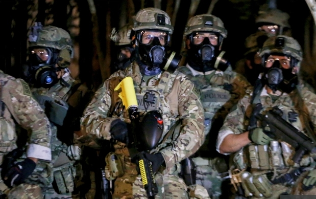 Portland DHS troops