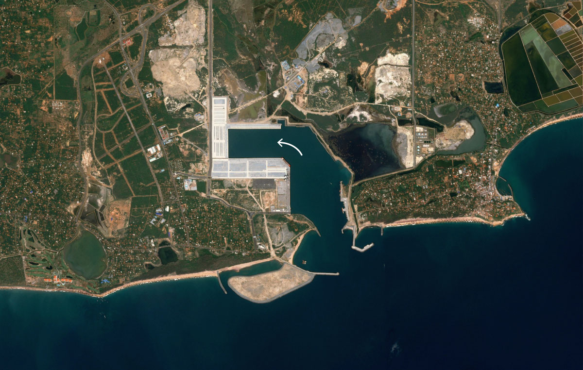 BRI porto no Sri lanka