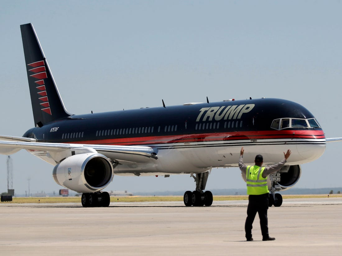 Trump'a airplane