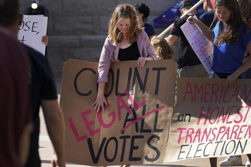 Pesquisa indicou que  70% dos Republicanos não acreditam que as eleições tenha sido livres e justas