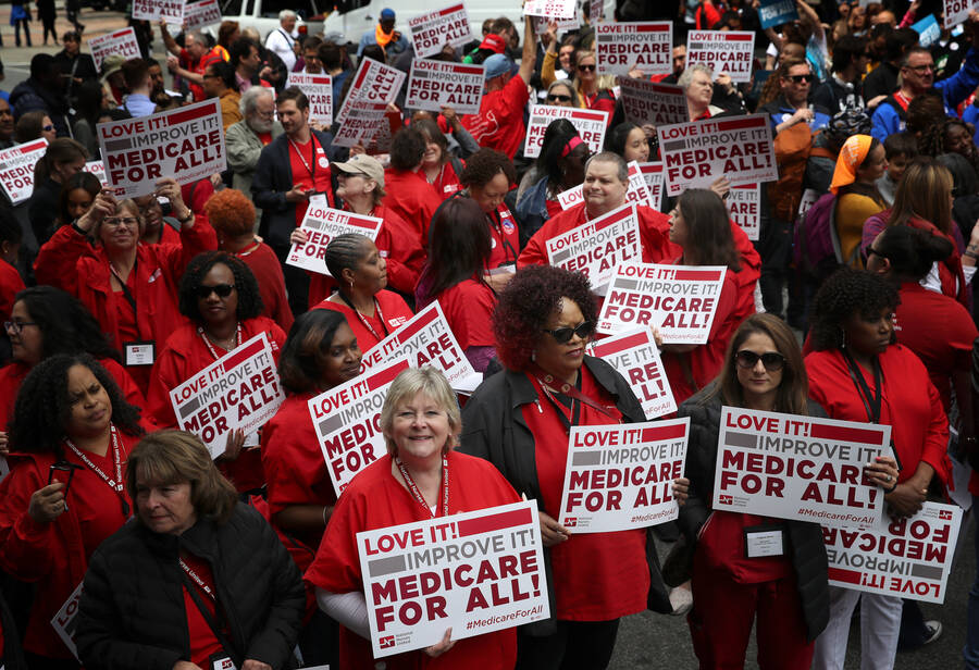 Medicare for All nurses 2019