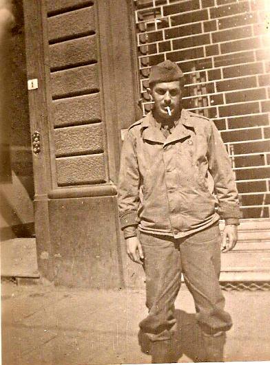 Tenente Rosenthal participa da campanha da FEB na Itália, 1945