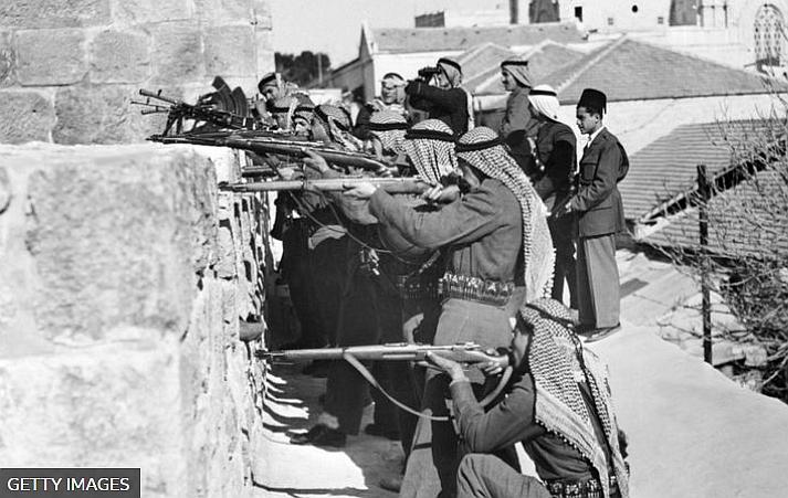 Combate entre  A Legião Árabe e Haganah