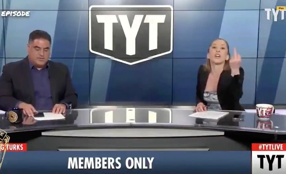"""Cenk Uygur and Ana Kasparian accuse journalist Aaron Maté of being """"paid by the Russians"""" and working for """"disgusting dictators"""", May 2021"""
