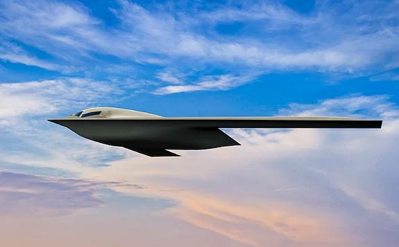 New B-21 stealth bomber aircraft, Northrop Grumman
