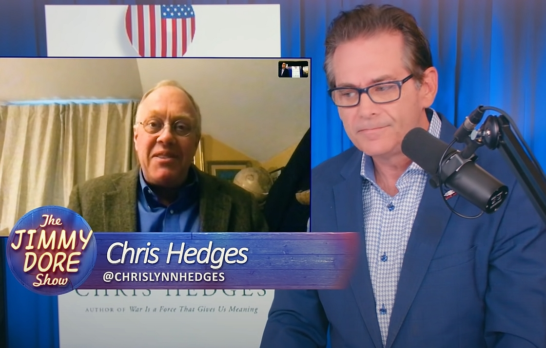 Chris Hedges on Jimmy Dore Show